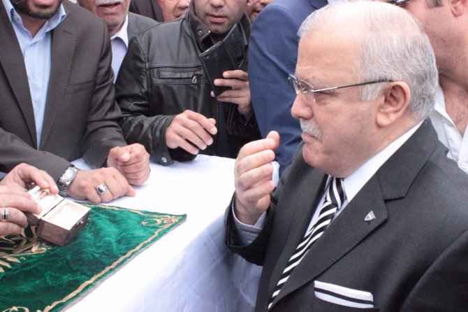 Sakal-ı Şerif Kırşehir'de coşkuyla karşılandı