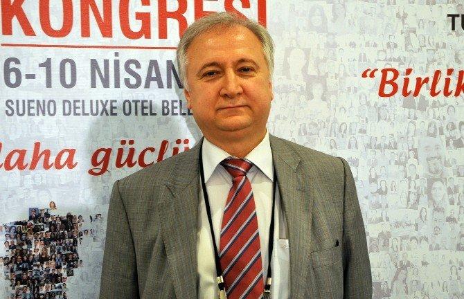 Türk Toraks Kongresinde Farkındalık Mitingi