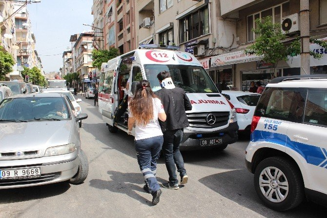 Nazilli'de Kamyonetle Motosiklet Çarpıştı: 1 Yaralı