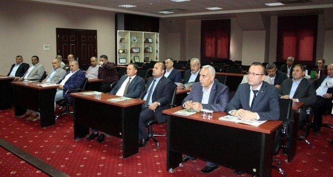 Nizip Ticaret Odasında Kardeş Oda Protokolü İmzaladı