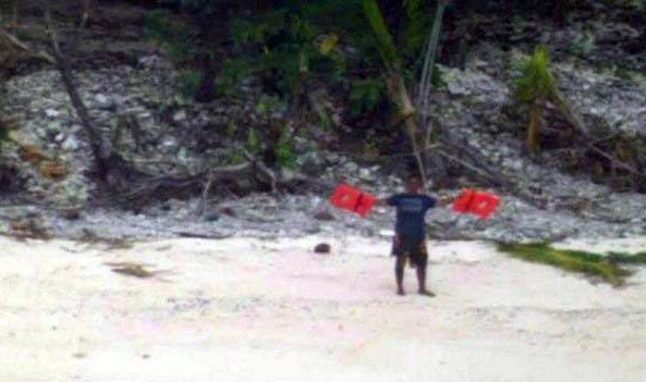 Kayıp Denizcileri Palmiye Yaprakları Kurtardı