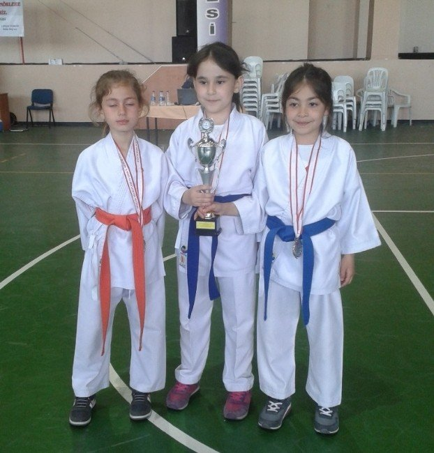 Kurtuluş İlkokulu Karatede Türkiye İkincisi Oldu