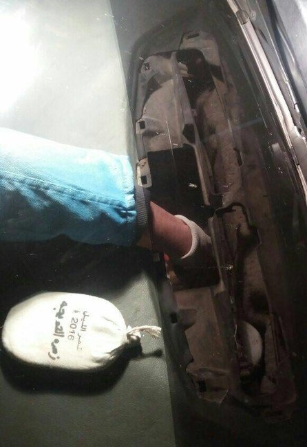 Otomobilden 16 Kilo Esrar Çıktı