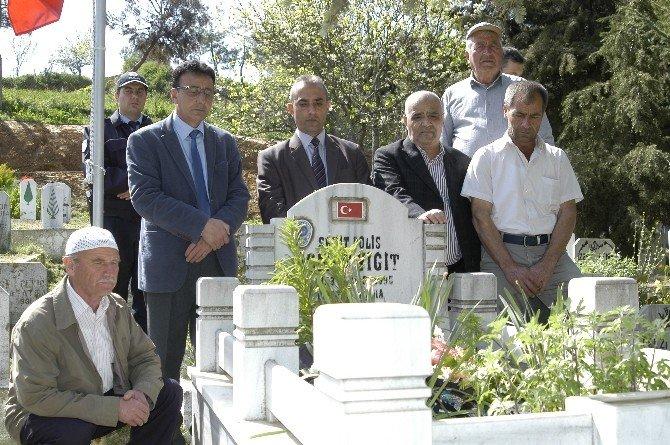 Şehit Polis İsmet Yiğit Unutulmadı