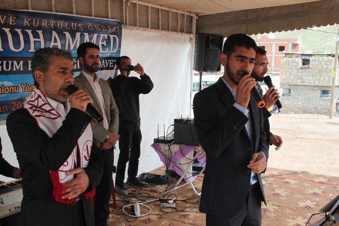 Şırnak'ta Kutlu Doğum Etkinliği