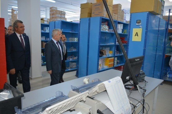 İstanbul Eczacılar Üretim Temin Dağıtım Kooperatifi Beydağı Şubesi Açıldı