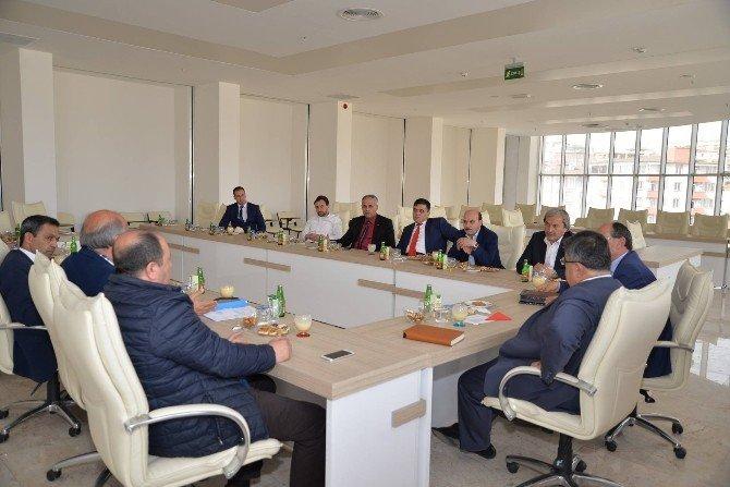 Bilecik Belediyeler Birliği Toplantısı Yapıldı