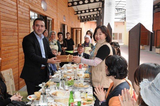 """""""İstanbul'dan Trakya'ya Mimar Sinan Rotası"""" Güney Koreli Gazetecilere Tanıtıldı"""