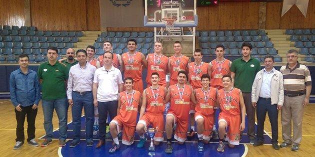 Basketbolda gençler Anadolu şampiyonaları tamamlandı