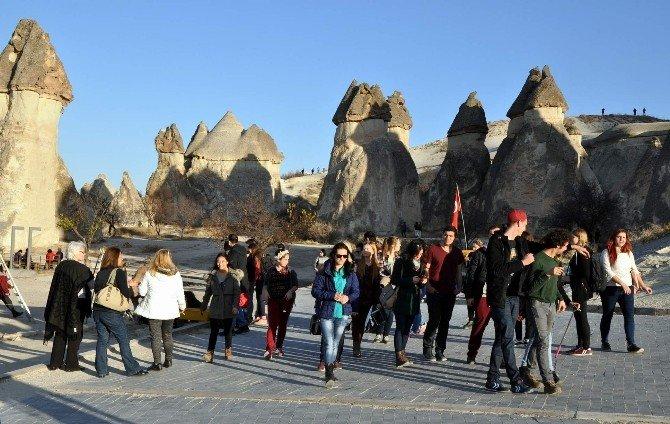 Kapadokya'da Ziyaretçi Sayısı Düştü