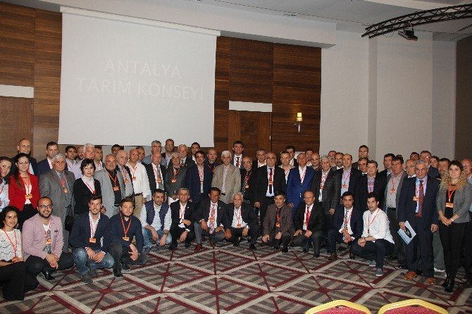 Antalya'nın Tarım Sorunları Kitapçık Haline Gelecek