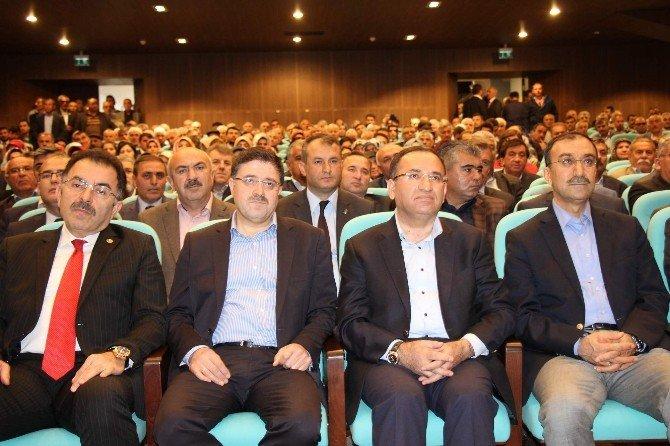"""Adalet Bakanı Bozdağ: """"CHP Ve HDP'nin Açıklamalarını Yan Yana Koyun Hangisi Hangisinin Açıklamasıdır Sorun"""""""