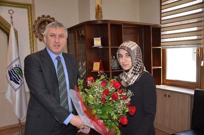 Aday Öğretmenlerden Başkan Sarıalioğlu'na Ziyaret