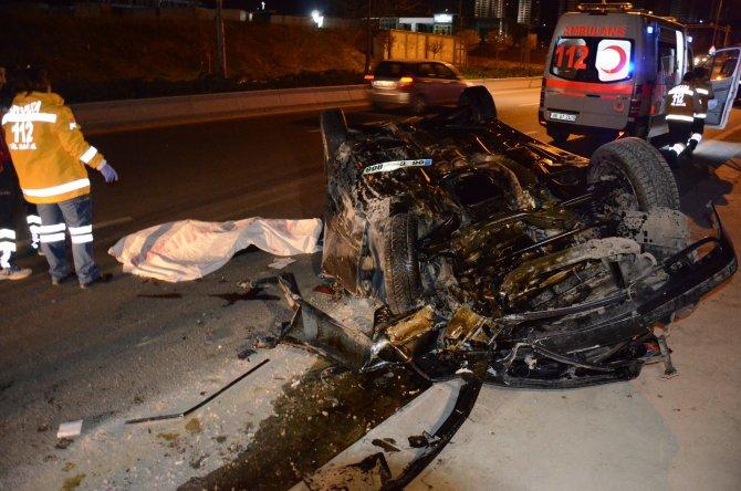 Kazakistan Büyükelçiliği çalışanları kaza yaptı: 1 ölü, 3 yaralı