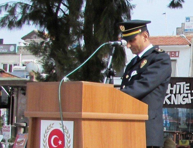 Ayvalık'ta Polis Teşkilatının 171. Yıl Dönümü Törenle Kutlandı