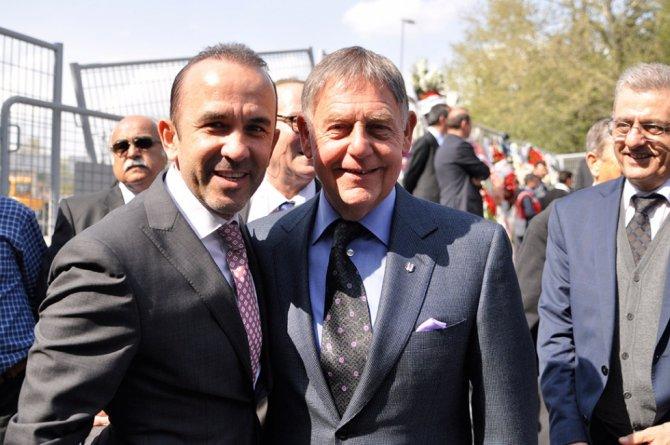 Vodafone Arena açılış için Cumhurbaşkanı Erdoğan'ı bekliyor