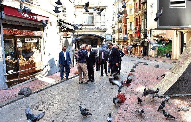 Başkan Demircan'dan Pazar Mesaisi