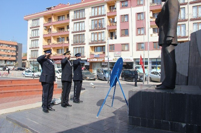 Çan'da Türk Polis Teşkilatının 171'nci Yılı Kutlandı