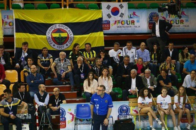 Fenerbahçe Grundig Avrupa Üçüncüsü