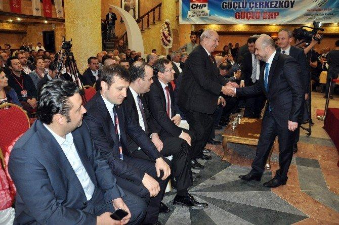 CHP Çerkezköy İlçe Teşkilatı Camcı İle Yola Devam Dedi
