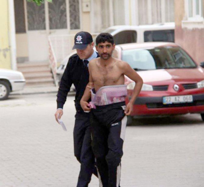 Camideki sadaka kutusunu soyan şüpheli yakalandı