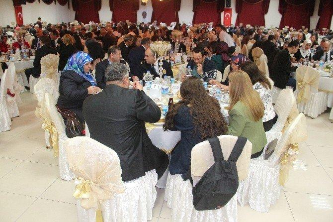 Emniyet Mensupları Şehit Aileleri Ve Gazilerle Bir Araya Geldi