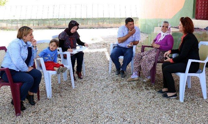 Büyükşehir Belediyesi 3 Ayda 248 Engelliyi Evinde Ziyaret Etti