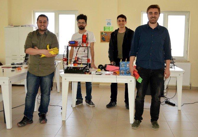 ERÜ'lü Öğrenciler Evde Fabrika Sistemi Geliştirdi