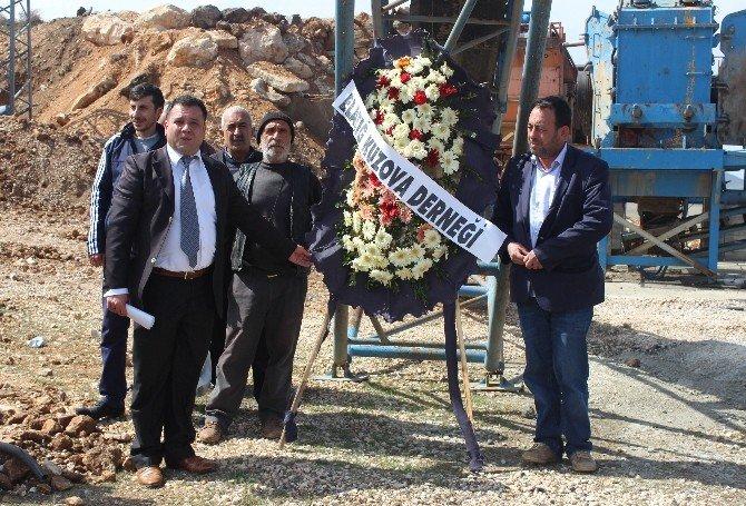 Elazığ'da Taş Ocağı Eylemi