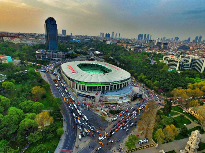 Vodafone Arena, hasretin sona ereceği saati bekliyor