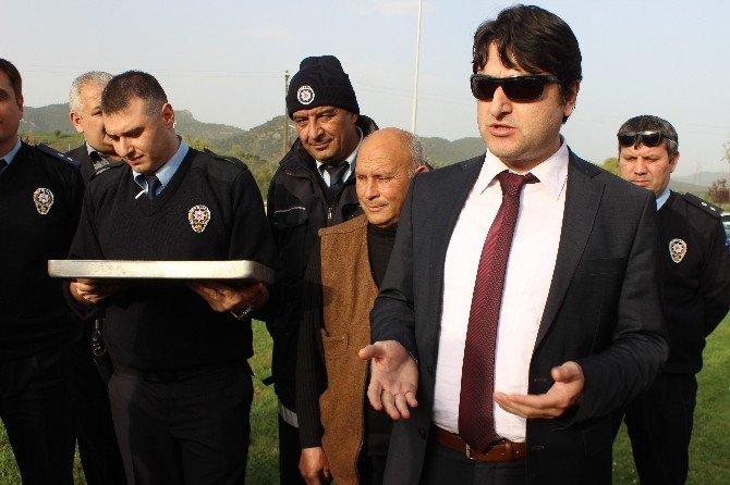 Osmaneli Emniyeti'nden 1308 Osmaneli Belediyespor'a Moral
