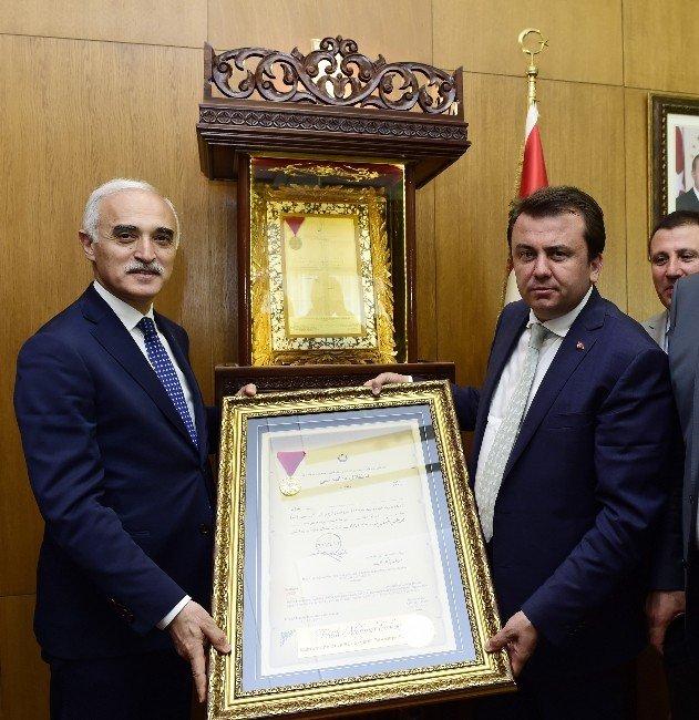 MÜSİAD Heyetinden Başkan Erkoç'a Ziyaret