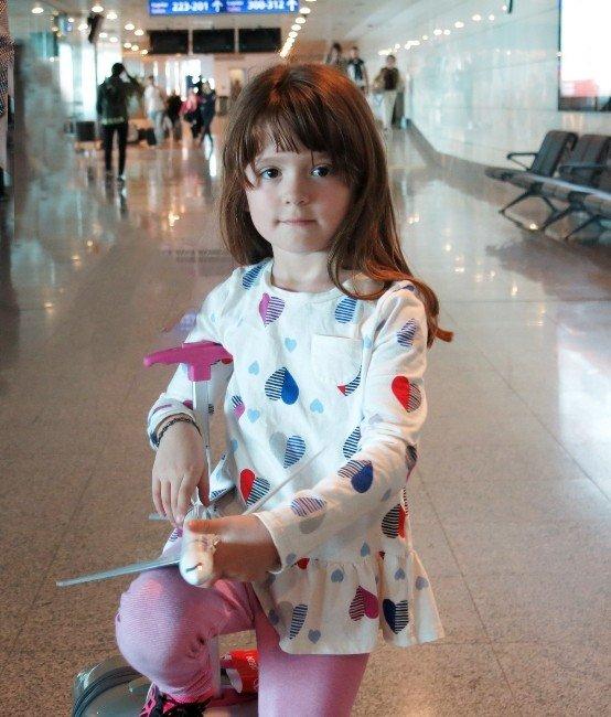 Gezisini Tamamlayan 6 Yaşındaki Talihsiz Lizzy Amerika'ya Döndü