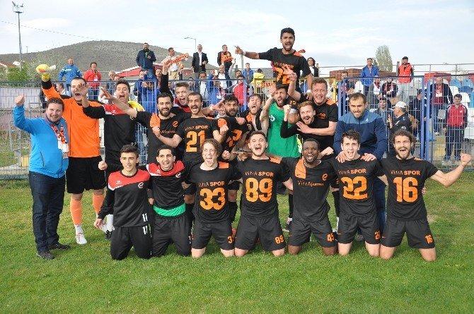 Bilecik'te 1.'inci Amatör Lig Şampiyonu Vitraspor Oldu