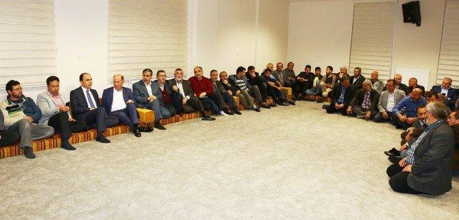 Selçuklu Belediye Başkanı Altay Sanayi Esnafı İle Bir Araya Geldi
