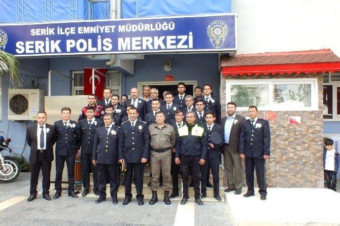 Serik'te Polis Haftası Buruk Kutlandı