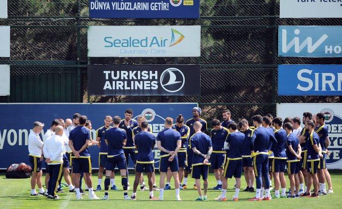 Fenerbahçe'de derbi maçın hazırlıkları başladı