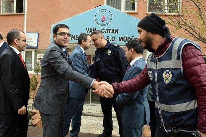 Türk Polis Teşkilatı'nın 171. Kuruluş Yılında Şehitler İçin Mevlit Okutuldu