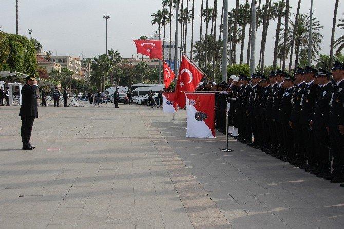 Türk Polis Teşkilatı'nın 171. Kuruluş Yılı Törenle Kutlandı