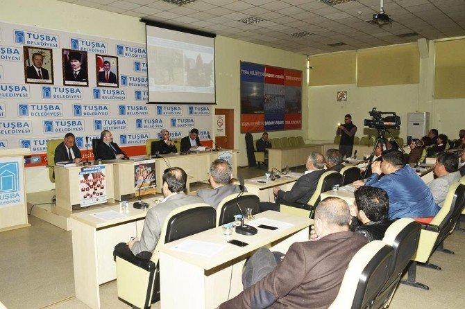 Tuşba Belediyesi'nin Nisan Ayı Meclis Toplantısı