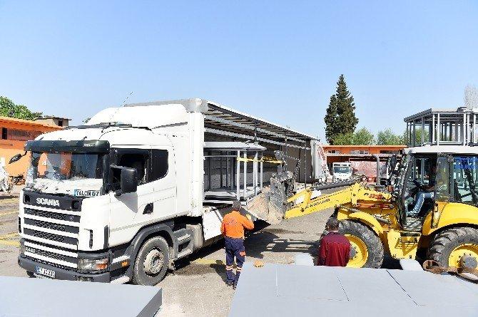 Muratpaşa Belediyesi Ürettiği Konteynerleri Satıyor