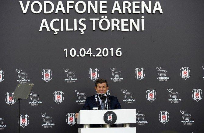 """Başbakan Davutoğlu: """"Tarihi Bir Gün, Çünkü Kartal Evine Dönüyor"""""""