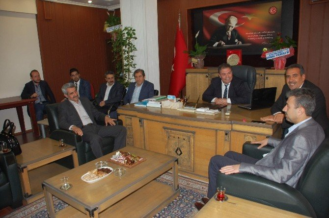 AK Parti'den, İl Genel Meclisi'ne Ziyaret