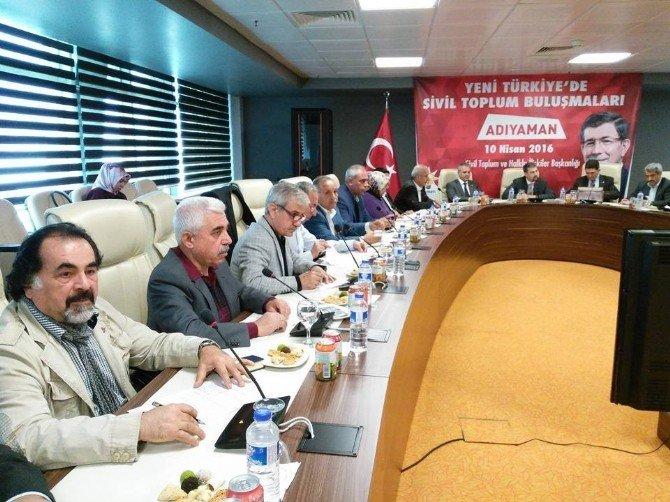 """Başkan Öner, """"AK Partinin Yeni Anayasa Çalışmalarını Destekliyorum"""""""