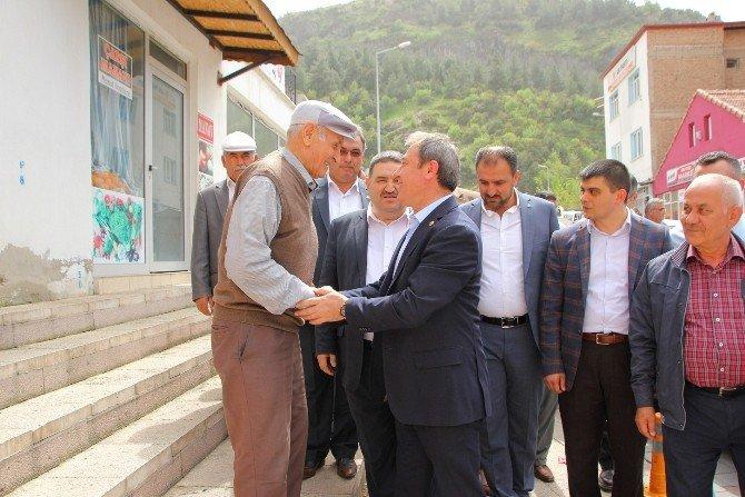 AK Parti Denizli Milletvekili Tin Honaz İlçesini Ziyaret Etti