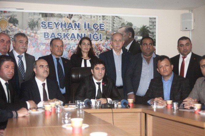"""AK Parti Seyhan İlçe Başkanı Yeşiltaş: """"Denetim Raporlarına Göre Seyhan Belediyesi Zarara Uğratılıyor"""""""