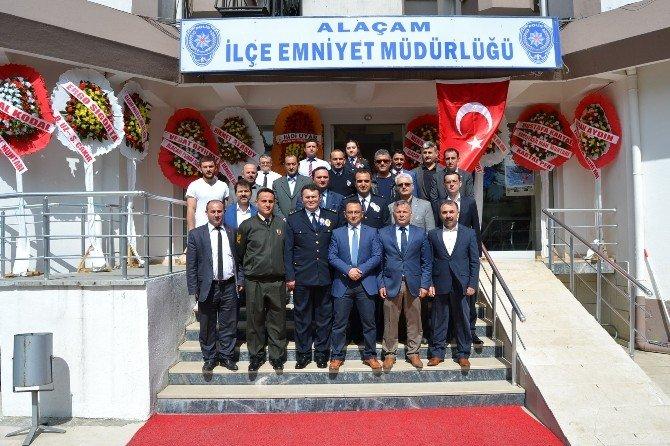 Alaçam'da Polis Haftası Etkinliği
