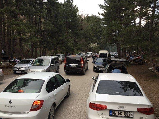 Hafta Sonu Ankaralıların Gözdesi Kızılcahamam Oldu