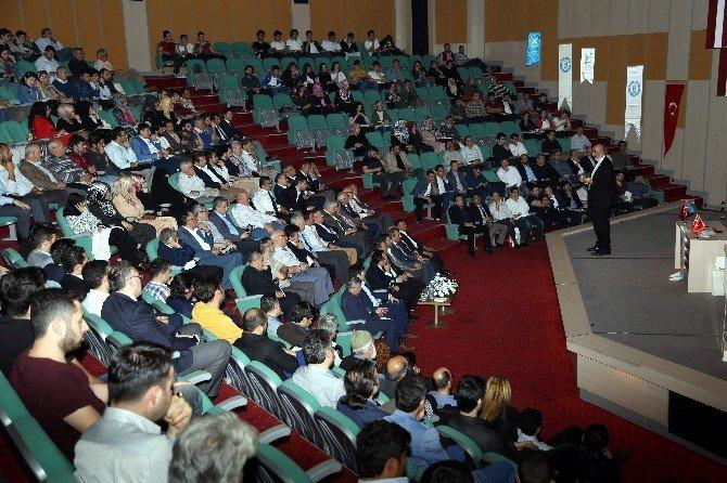 ADÜ, Gazeteci Yazar Abdurrahman Dilipak'ı Ağırladı