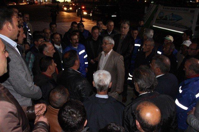 Başkan Karaçanta, Temizlik İşçileri İle Yemekte Buluştu